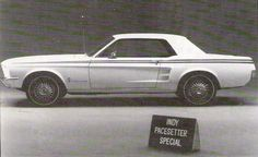 White 1967 Ford Mustang Indy Pacesetter Hardtop - MustangAttitude.com Mobile