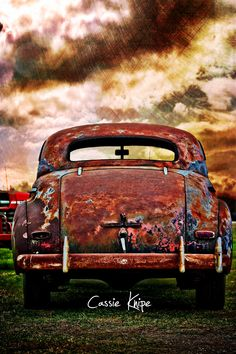 Rusty Chevrolet by Cassie Knipe on Rust Never Sleeps, Rust In Peace, Rusty Cars, Photo Boards, Abandoned Cars, Automotive Art, Car Photography, Cool Trucks, Old Cars