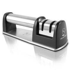 PriorityChef Knife Sharpener for Straight and Serrated Knives, 2 Stage Diamond Coated Sharpening Wheel System, Black: When you purchase the Priority Chef knife sharpener today here are some of the great things you can look forward to. Best Knife Sharpener, Electric Knife Sharpener, Kitchen Knives, Kitchen Gadgets, Kitchen Appliances, Specialty Appliances, Kitchen Tools, Kitchen Cutlery, Knife Making