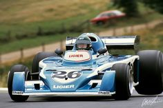 1976 – Jacques Laffite in his Ligier JS5 at the last Grand Prix on the Nordschleife