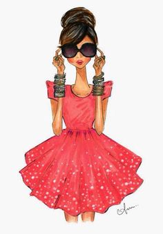 Fashion Illustration by Anum