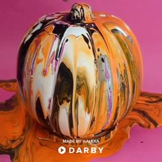 Learn how to Alexa's Video. Discover the best DIY Ideas and How to Videos at Darby Smart. Fall Pumpkin Crafts, Easy Fall Crafts, Pumpkin Art, Halloween Crafts For Kids, Diy Halloween Costumes, Halloween Art, Halloween Pumpkins, Halloween Decorations, Pumpkin Painting
