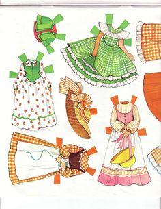 The Ginghams Visit Grandma Paper Dolls.This From Sally Watson – MaryAnn – Picasa Nettalbum