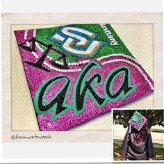 AKA law school graduation cap