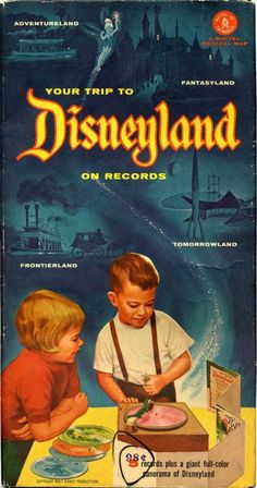 disneyland mattel musical map