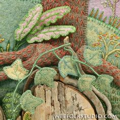 With autumn quickly approaching and the leaves close to falling from the trees, I thought I'd put together a group of leaf closeups. These images are all details from Pocketful of Posiesillustrati...