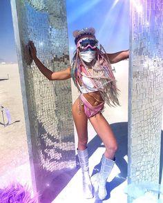 ⭐️Disco magic⭐️ repost from @gsparkl deep playa exploring the magic of human…
