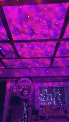 Neon Bedroom, Room Design Bedroom, Diy Bedroom Decor, Deco Cool, Chill Room, Cute Room Decor, Neon Room Decor, Indie Room, Aesthetic Room Decor