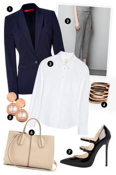 Outfit inspiration for the tough lawyer, the up-and-coming politician, the tech analyst, or anyone else who requires high-gloss basics that feel super professional