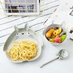 The cutest way to eat? #totoro • Shop our merch www.totemokawaiishop.com