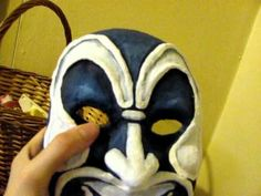 How to Make a Mask (Plaster Cloth Method) Part 6