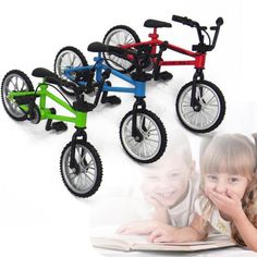 Mini Functional Alloy Finger Mountain Bike BMX Bicycle Model Ceative Toy Gift