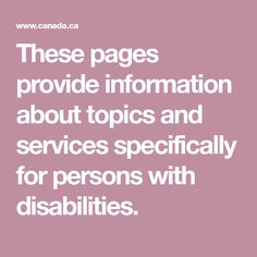 Tax credits and deductions for persons with disabilities Tax Credits, Deduction, Money Matters, Disability