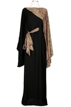 The Ranna Abaya is made with high quality Neda material and the animal print we love for a night out . The cute belt completes this sophisticated look. Size and Care Guide: XS S/M = 54 inch length M/L = 56 inch length L/XL = 58 inch length XL/2XL = 60 inch length Dry Clean Only or hand washing and air drying