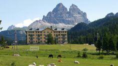 Misurina con le Tre Cime - Dolomites, province of Belluno, Veneto, Northern Italy