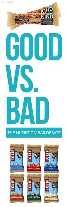 On the god fitness bars? Are they really that good for you? Debunking the good vs. the bad in Nutrition Bars!