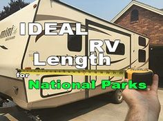 Having a large RV is wonderful for having a spacious and comfortable place to stay, but many buyers of very large RVs regret their purchase when trying to find a camp site. State and national parks are notoriously difficult to camp in if your RV is too l Camping Hacks, Rv Camping Checklist, Camping List, Family Camping, Camping Ideas, Camping Guide, Camping Outdoors, Outdoor Camping, Tent Camping