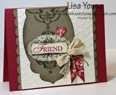 Affection Collection stamp set from Stampin' Up!...one of my favorites from Stampin' Up! 2012 Holiday Catalog