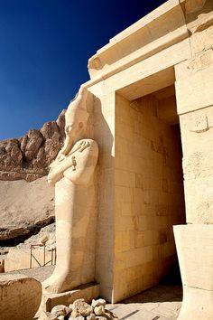 Hatshepsut Temple by Shawn Clover,