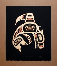 killer whale Pacific North West Coast native art reminds me of home
