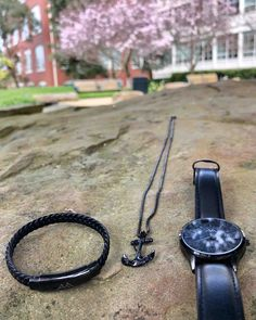Complete your outfit with our sophisticated Black Elegance Collection, featuring our Black Classic Watch, Black Anchor Necklace, and Black Adjustable Bracelet. Where perfection matters, you can be confident you're putting your best foot forward. All Atypical Man accessories are cruelty free, sustainable, and vegan. Anchor Necklace, 316l Stainless Steel, Adjustable Bracelet, Best Brand, Cruelty Free, Style Guides, Atypical, Men Stuff, Confident