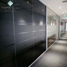 Tecture Aluminum frame tempered tinted glass partition panels for offices designs Laminated Glass, Glass Partition, Offices, Frame, Furniture, Design, Home Decor, Picture Frame, Decoration Home