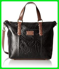 f3d08bf1dd12 Tignanello Borought Palm Embossed Vintage Convertible Tote Bag