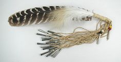 Smudge Fan Prayer Feather