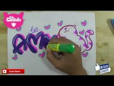 Name Tags, Lily, Youtube, Lettering, Crafts, Scrap, Amor, Drawing Letters, Lettering Art