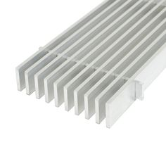 Speedi-Grille SG-212 FLW 2-Inch by 12-Inch White Floor Vent Register with 2 Way Deflection Applied Applications International