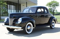 1940 Ford Deluxe Opera Coupe