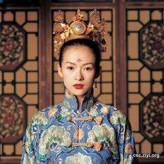 Zhang Ziyi in the House of the Flying Daggers (Shi mian mai fu, 2004) #CostumeDesign by Emi Wada
