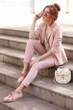 rose // plus pink keds // Imagina um look inteirinho inspirado em um tênis! Foi assim com essa produção usando o Keds rosé, definitivamente o meu tênis favorito.