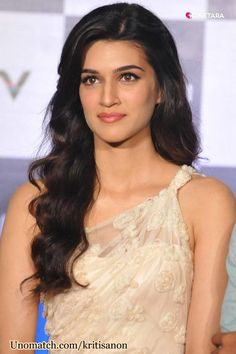 Kriti Sanon (born 27 July 1990) is an Indian model and film actress. After a successful modeling career, she made her acting debut with Sukumar's Telugu psychological thriller film 1: Nenokkadine, and subsequently made her Bollywood debut in Sabbir Khan's commercially successful action-romance film Heropanti. fans join her official page : www.unomatch.com/kritisanon #kritisanon #indianmodel #filmactress #modeling #bollywoodcelebrities Beautiful Bollywood Actress, Beautiful Indian Actress, Beautiful Actresses, Bollywood Heroine, Indian Celebrities, Bollywood Celebrities, Female Celebrities, Beauty Full Girl, Beauty Women