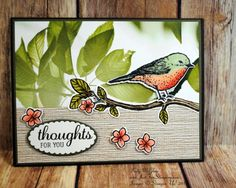Best Birds, Serene Scenery Paper Stack, Stampin' Up!