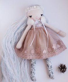 New doll is born! ❤ And she is available in my store. ✨ Link in bio. ☀ . . . . . #heirloomtoy #heirloomdoll #dollmaker #ooakdolls #clothdoll #artdoll #dollartist #creatorslane #craftsposure #handmadedoll #SmallBusinessLove #lovemymakers #hellosmallshop #designertoys #textileart #textiledesign #dollstagram #textiledoll #fabricdoll #nurserydecor #kidsdecor #кукларучнойработы #softdoll #girlsdecor #embroidery #kidsroom