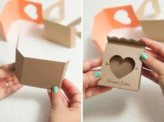 Adorable idea for s'mores wedding favors - so unique! Free design too! Wedding Favors And Gifts, Wedding Favor Boxes, Craft Wedding, Cookie Packaging, Cheap Favors, Guest Gifts, Diy Gifts, Paper Crafts, Gift Wrapping