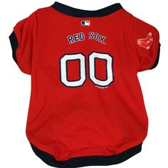 Boston Red Sox Dog Jersey   Officially Licensed Pet Clothes at Glamourmutt.com