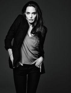 Angelina Jolie in ELLE