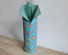 DIY.. Easy Fabric Wine Cover | Haberdashery Fun