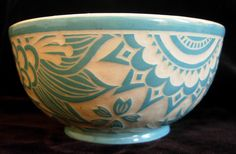Indian paisley bowl