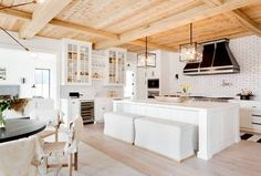 DOMINO:Tour a 10-Bedroom Hamptons Home Inspired by European Farmhouses