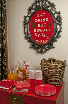 Gallery Sweet Little Party: Red Riding Hood Party