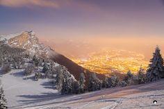 Photo Grenoble by night par NICOLAS BOHERE on 500px