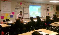 ExitTicket in action at Leadership Public Schools Richmond, 9th Grade Academic Numeracy