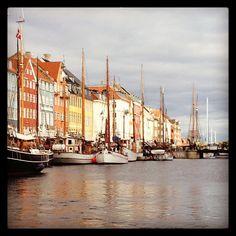 COPENHAGEN #nyhavn #københavn #kanalrundfart Copenhagen Photo by freja_ne
