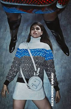 The Alexander Wang Fall 2015 Campaign lensed by Steven Klein Ad Fashion, Fashion Week 2015, Fashion Killa, Editorial Fashion, Fashion Models, Fashion Advertising, Famous Models, Models Off Duty, Textiles
