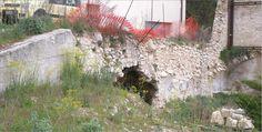 Cavità sotto una strada a Roio...