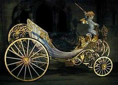 'This is the perfect fairy tale chariot. Princess Carriage, Cinderella Carriage, Cinderella Coach, Horse Carriage, Horse Drawn, Gothic, Antique Cars, Fairy Tales, Muscle Cars