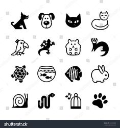 Illustration about Set of 16 web icons. Pet shop, types of pets. Illustration of pets, reptile, icons - 33782754 Pet Shop, Rabbit Icon, Bike Icon, Cat Icon, Pet Boarding, Pet 1, Medical Icon, Symbol Logo, Paintings